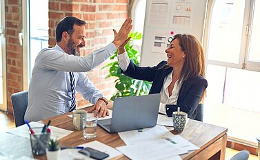 Teamwork im Digital Office CRM