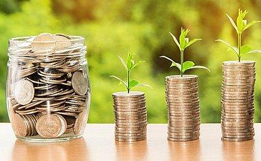 Geld für Digitalisierung Projekt