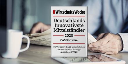 CAS Software Auszeichnung